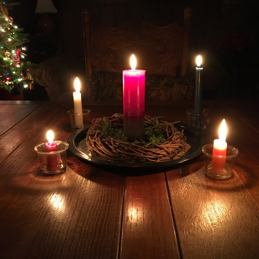 Solstice_Advent Wreath