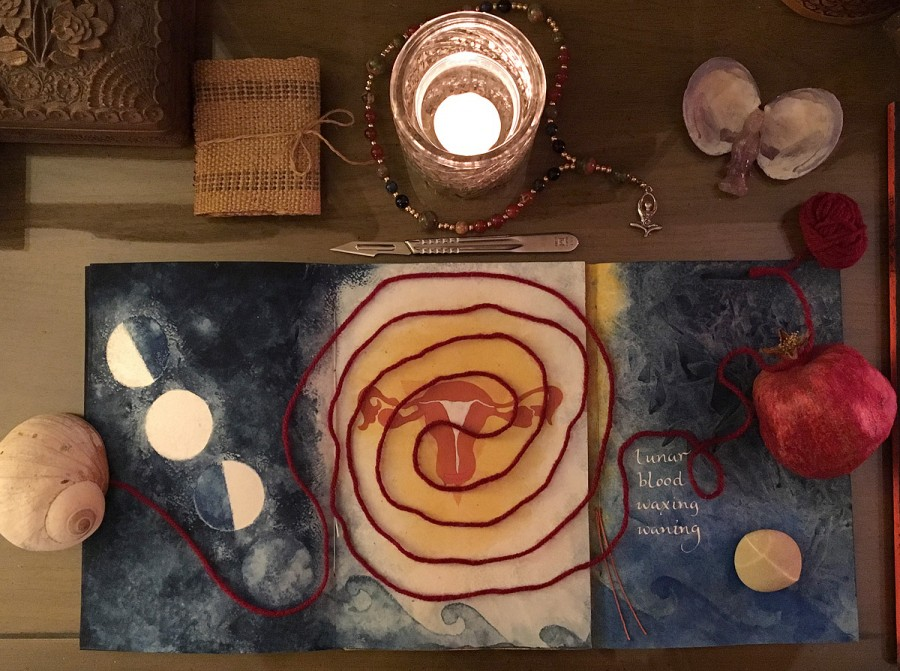 Womb Time_surgery altar