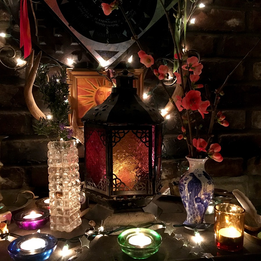 Brigid Hearth Altar