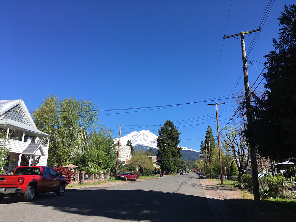 Shasta from Quincy Street