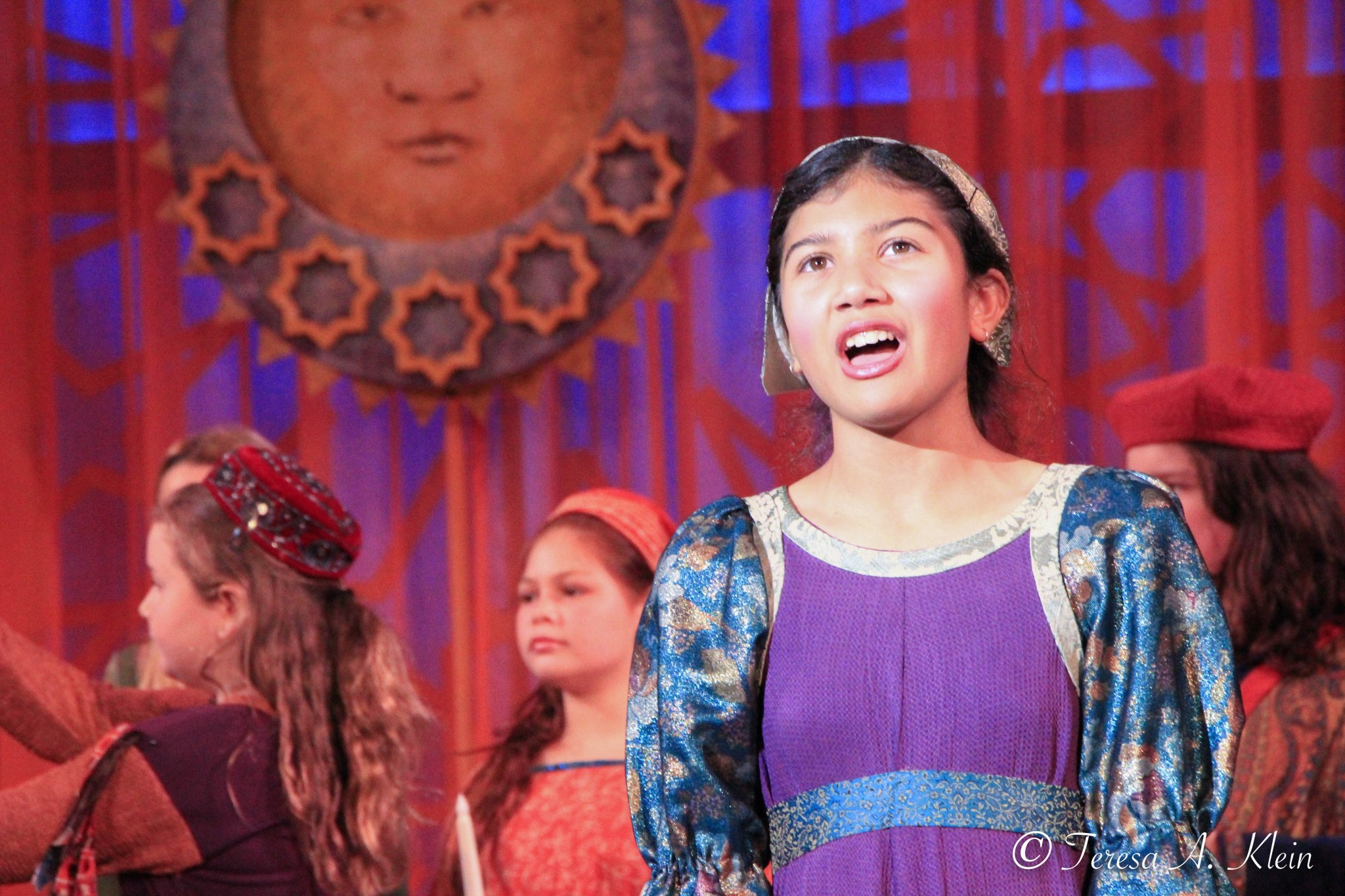 California Revels 2018 - Young Singer