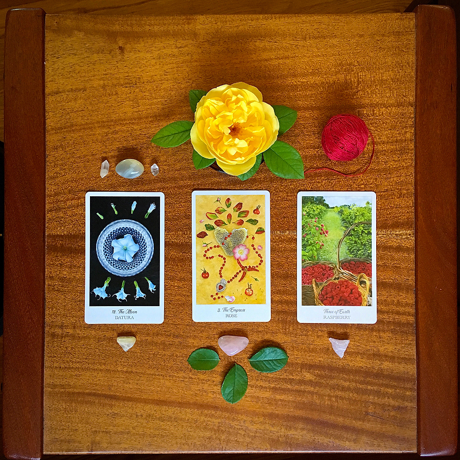 Sacred Play with the Herbcrafter's Tarot