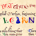 Learn Something card