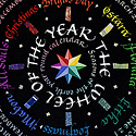 Wheel of the Year card